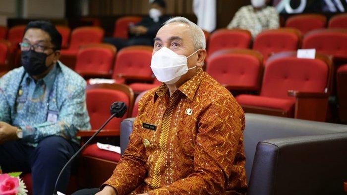Gubernur Isran Noor Bahagia, Kasus Positif Covid-19 Terus Melandai