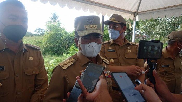 Sehari Setelah Kebakaran di Malinau Hilir Malinau, Gubernur Kaltara Kunjungi Keluarga Korban
