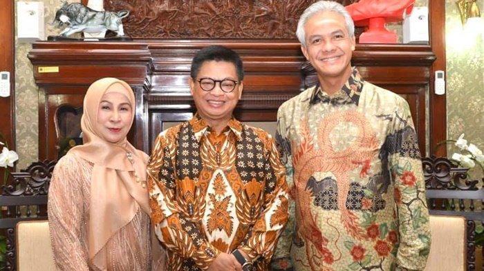 Bertemu di Semarang, Irianto Lambrie dan Ganjar Pranowo Diskusi Kerja Sama Magang ASN