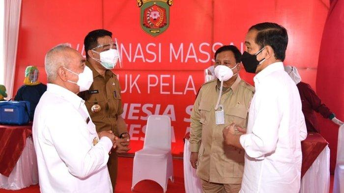 Gubernur Isran Noor Ungkap Kabar Gembira dari Jokowi untuk Masyarakat Kaltim soal Vaksin Covid-19