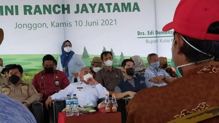 Gubernur Isran Noor Minta Pemda Tingkatkan Produksi Sapi 1,5 Kali dari Jumlah Warga Kaltim