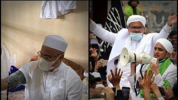 Masuk RS UMMI Habib Rizieq Positif Covid-19 & Idap Penyakit, Permintaan Ini Buat Imam FPI Masuk Sel