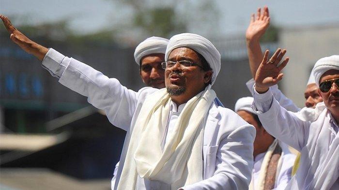 Meski Dipaksa Pasukan 1 Truk, Habib Rizieq Tolak Sidang Virtual, Didatangi Jaksa di Rutan Bareskrim