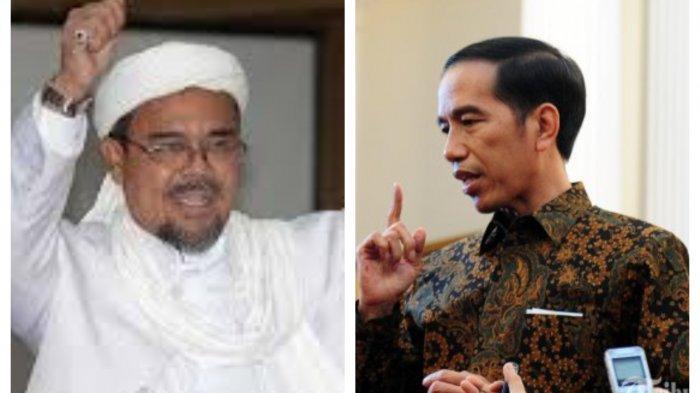 Habib Rizieq Shihab Pernah Sebut Jokowi Presiden Ilegal, Jadi Penyebab Sulitnya Izin FPI Terbit?