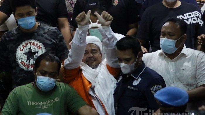 Terjawab, Alasan Habib Rizieq Tolak Makanan dari Polisi Selama di Penjara, Bos FPI Khawatir Sesuatu