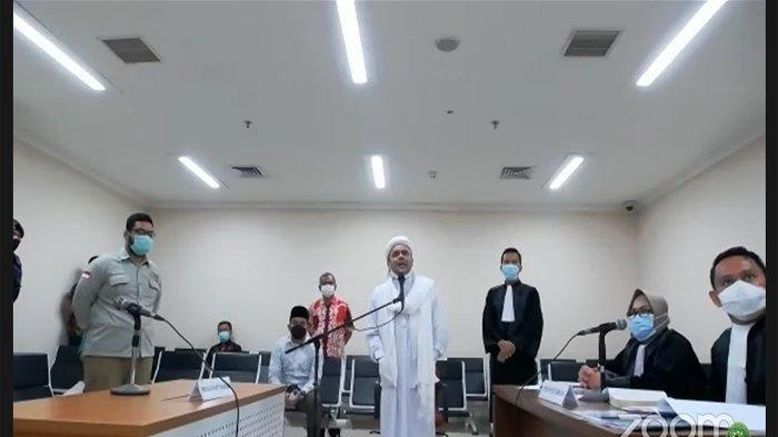 Blak-blakan di Pengadilan, Habib Rizieq Bongkar Alasan Tinggal di Arab Saudi, Singgung Dendam Ahok