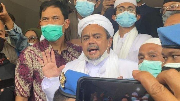Kasus Berlapis Timpa Habib Rizieq, Chat Mesum Diduga Bos FPI dengan Firza Husein Dilanjutkan Polisi