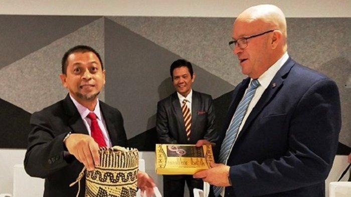 Bertemu Menteri Perdagangan Australia Selatan, Hadi Sebut Kaltim Masih Butuh Banyak Sapi