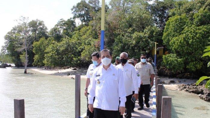 Kunjungi Daerah Wisata Biduk-biduk, Wagub Hadi Ingatkan Jangan Rusak Lingkungan