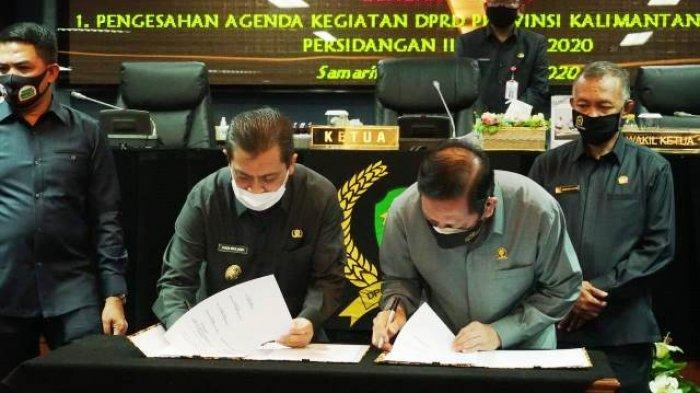 Pemprov dan DPRD Sepakati Rancangan KUPA-PPAS P-APBD Kaltim TA 2020