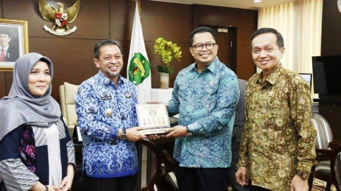 Terima Kunjungan DPD RI Perwakilan Kaltim, Wagub Hadi Usulkan Isran Noor Pimpin Badan Otorita IKN