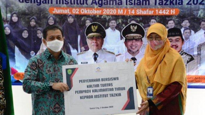 Pemprov Kaltim Lanjutkan Kerja Sama dengan Institut Agama Islam Tazkia Bogor