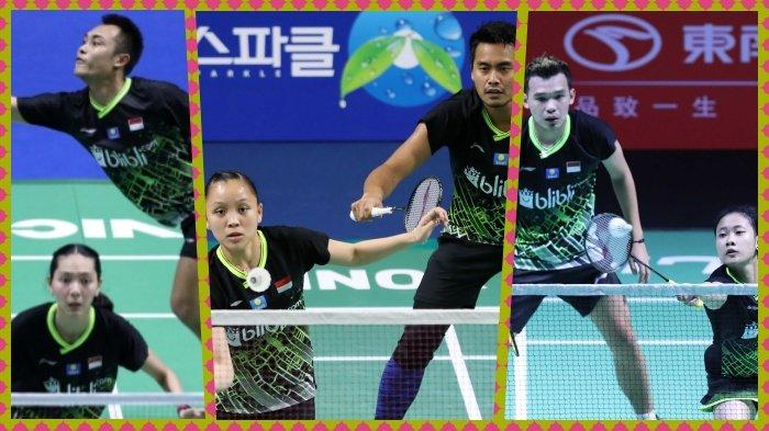 Jadwal dan Link Live Streaming Badminton Hong Kong Open 2019 3 Wakil Indonesia Bertanding di Babak I
