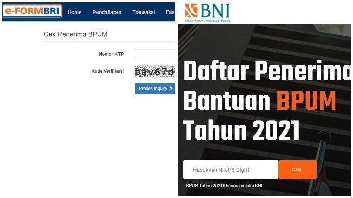 INFO TERBARU Inilah Daftar Nama Penerima BLT UMKM Tahap 3, Login banpresbpum.id/eform.bri.co.id/bpum