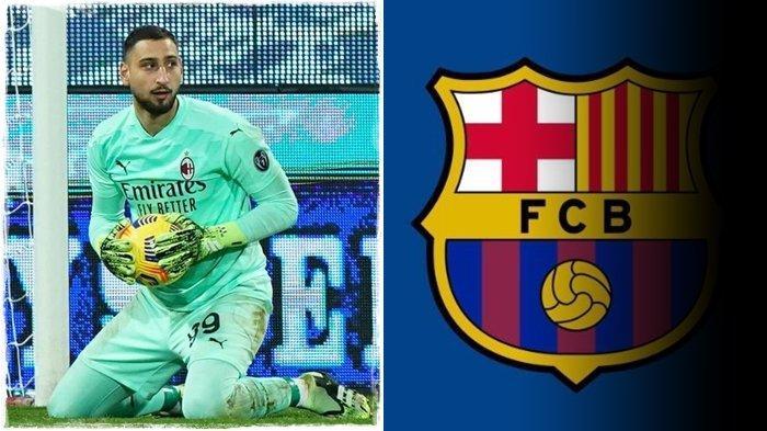 Transfer Liga Italia, Selangkah Lagi AC Milan Kehilangan Donnarumma, Uang Tak Masalah Bagi Barcelona