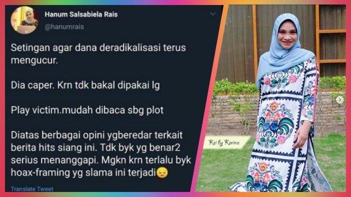 Hanum Rais Dilaporkan ke Polisi karena Cuitan Settingan, Ini Kronologi Tweet di Twitter & Reaksi PAN