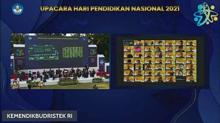 Hardiknas 2021, Mendikbudristek RI Izinkan Upacara Bendera Secara Tatap Muka, Bagaimana Nunukan?