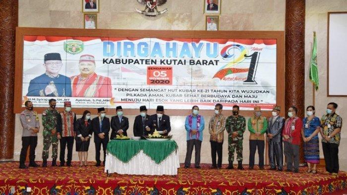 4 Pesan Pj Bupati dalam Peringatan Hari Jadi ke-21 Kabupaten Kubar