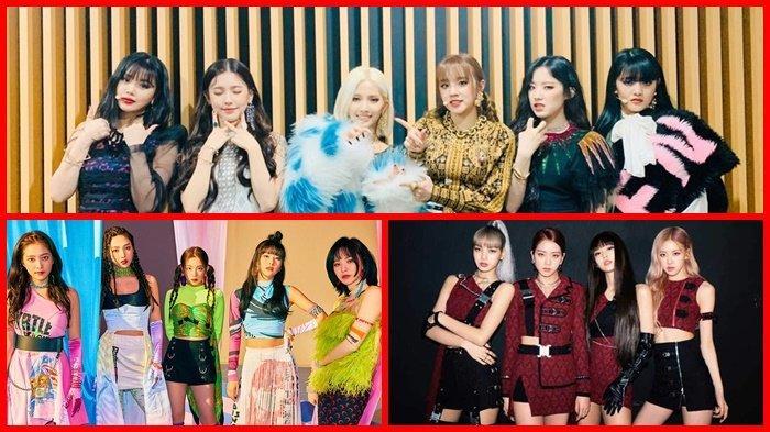 Daftar Reputasi Brand Girl Group Korea November 2019 Red Velvet Tersingkir dari 3 Besar, BLACKPINK ?