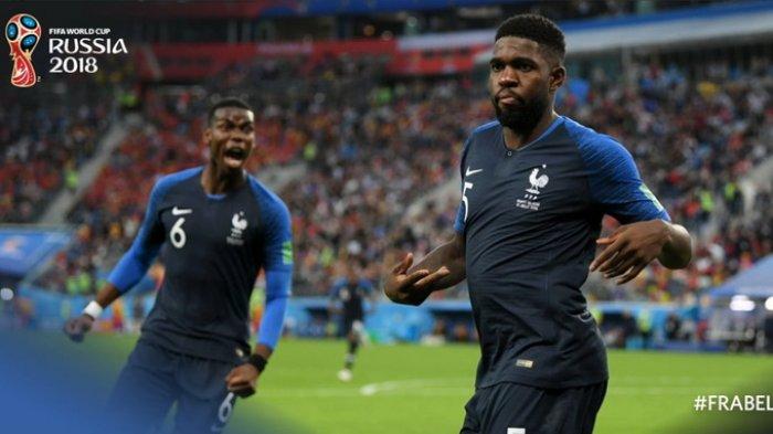 Highlight Perancis vs Belgia, Gol Semata Wayang Umtiti Antar Les Bleus ke Final Piala Dunia 2018