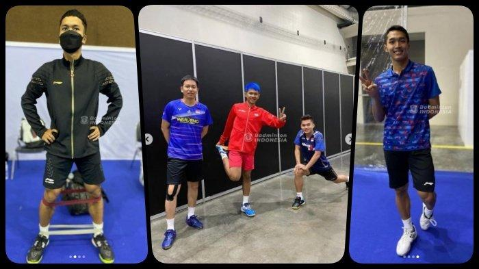 Hasil Drawing Thailand Open I 2021, Ada Anthony Ginting, Jonatan Christie, FajRi, Jadwal Live TVRI
