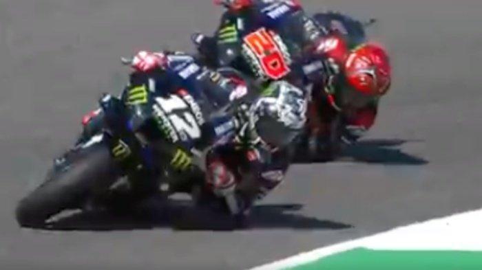 Hasil FP1 MotoGP Hari Ini, Maverick Vinales Tercepat, Marc Marquez dan Valentino Rossi Tercecer