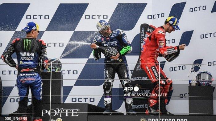 HASIL dan Klasemen MotoGP 2021 Terbaru, Francesco Bagnaia Tempel Ketat Fabio Quartararo di Puncak