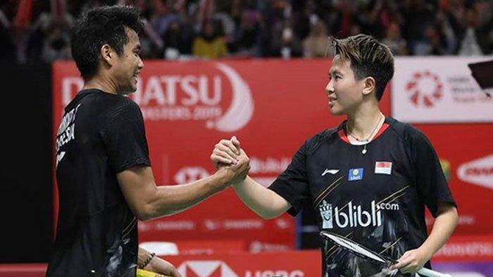 Hasil Indonesia Masters 2019 - Kado Perpisahan Butet, Tontowi/Liliyana Harus Puas Jadi Runner Up
