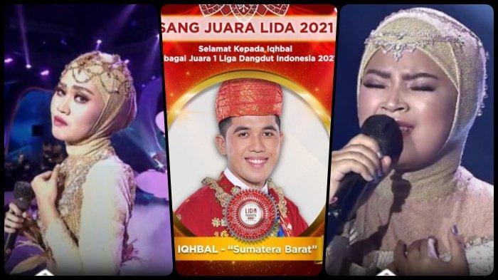 Hasil Konser Kemenangan LIDA 2021, Iqhbal, Sulis dan Ratna Semua Raih 5 SO, Profil Para Juara