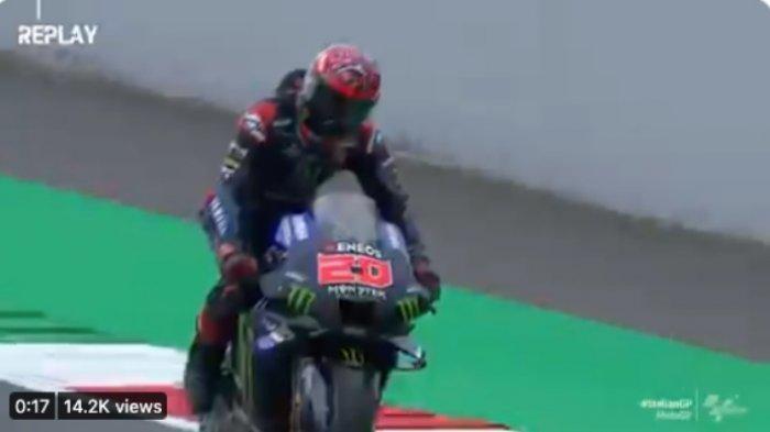 Hasil Kualifikasi MotoGP Italia 2021, Fabio Quartararo Pole Position, Valentino Rossi Tercecer