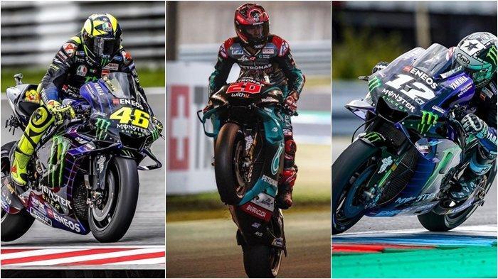 Hasil Kualifikasi MotoGP Malaysia, Dominasi Yamaha Valentino Rossi Lepas 3 Besar, Marc Marquez Jatuh