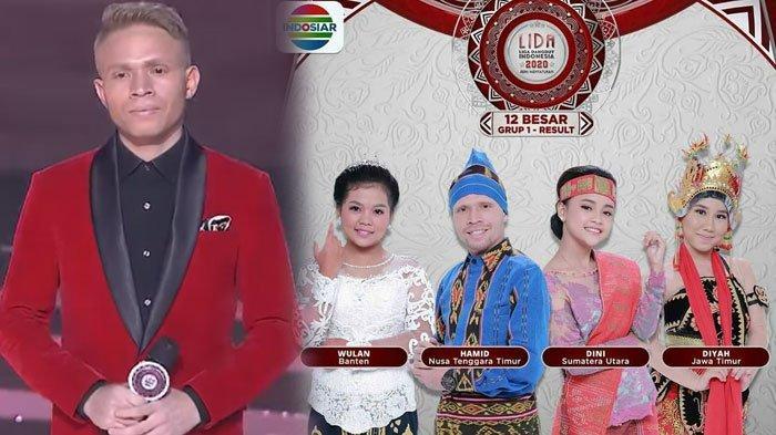 HASIL LIDA 2020 Grup 1 Top 12 Tadi Malam, Hamid Tersenggol, Diyah Diselamatkan Juri