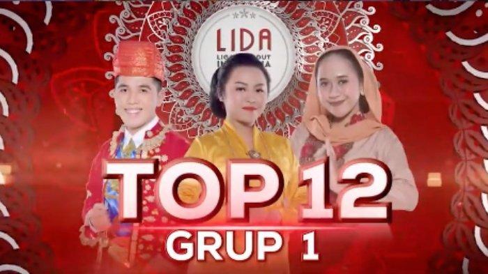 Hasil LIDA 2021 Top 12 Grup 1 Siapa Tersenggol? Iqhbal Polling Tertinggi, Juri Pilih Meldha / Salsa?