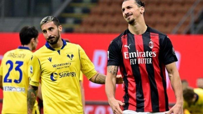 Jelang Napoli vs AC Milan, Zlatan Ibrahimovic Kerja Keras Demi Stefano Pioli, Capolista jadi Taruhan