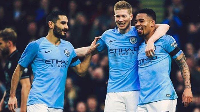 Hasil Piala FA Manchester City vs Burnley (5-0), Lihat Cuplikan Golnya!