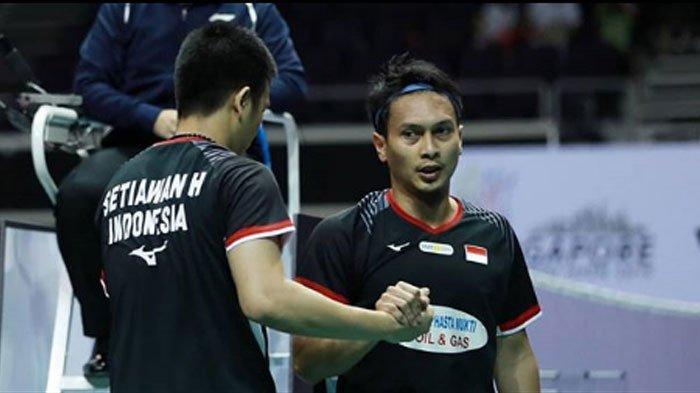 Hasil Singapore Open 2019 - Ahsan/Hendra Gagal Juara, Dikalahkan Wakil Jepang!