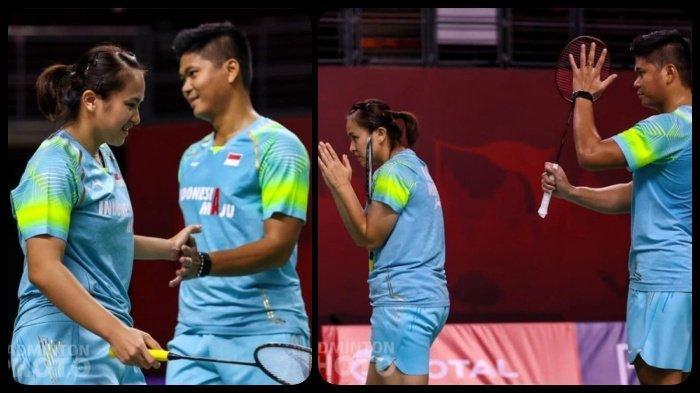 Hasil Thailand Open I 2021 - Bikin Pasangan Denmark Jatuh Tersungkur, Praveen/Melati ke Semifinal