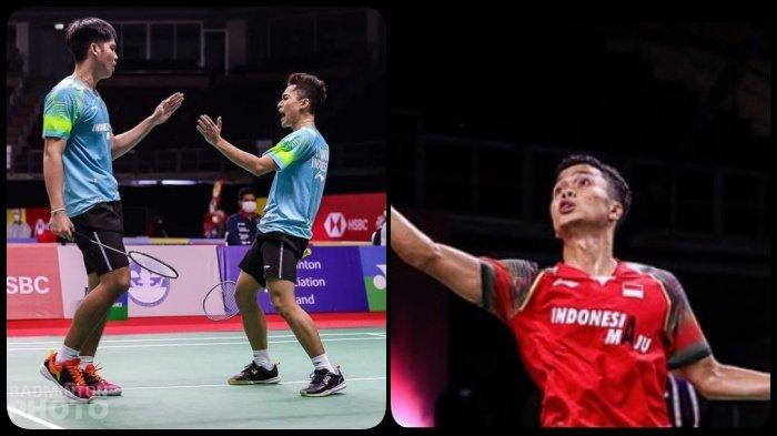 Hasil Thailand Open I 2021 - Kalahkan Wakil Denmark, Anthony Ginting Susul Leo/Daniel ke Semifinal