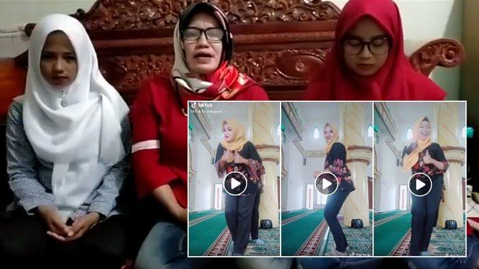 Heboh Video Viral 3 Wanita Joget Tik Tok Dalam Masjid Pelaku Akhirnya Muncul Buka Suara Tribun Kaltim