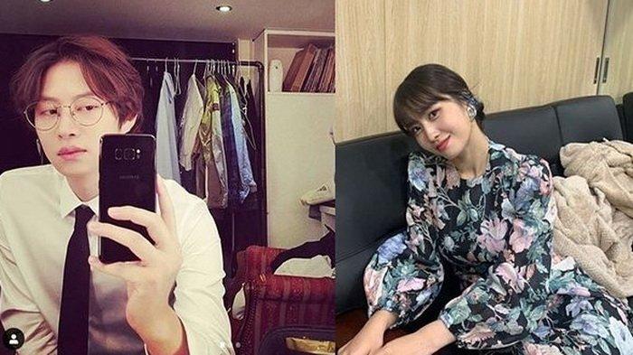 Heechul Suju dan Momo TWICE Dikabarkan Pacaran, JYP Entertainment Membantah