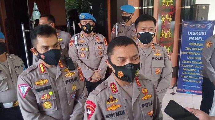 Polda Kaltim Sosialisasikan Zona Zero Tolerance di Kawasan Jalan Nasional Daerah Balikpapan