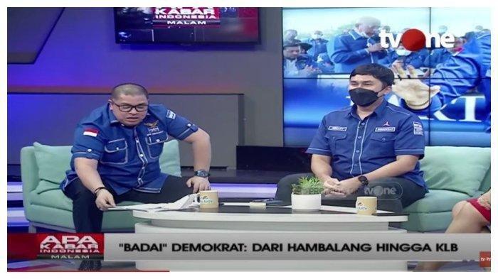 Kisruh Demokrat, Kubu Moeldoko-AHY Debat Sengit & Saling Sindir di TV, Diminta Belajar Etika Debat
