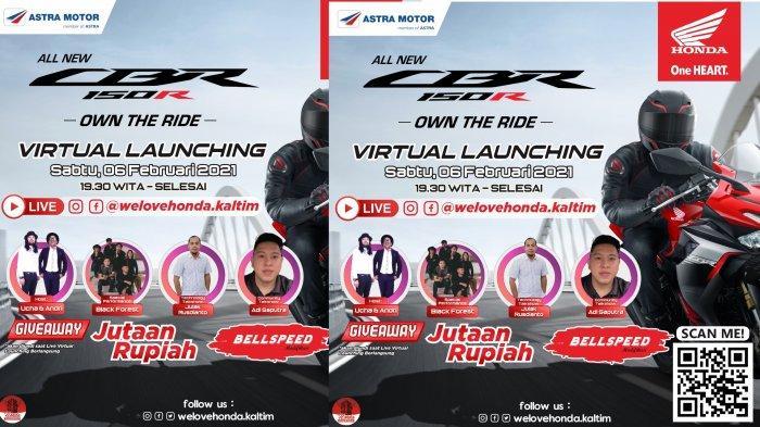 Launching All New Honda CBR150R di IG & Facebook @Welovehonda.kaltim, Promo Pembelian Motor Honda