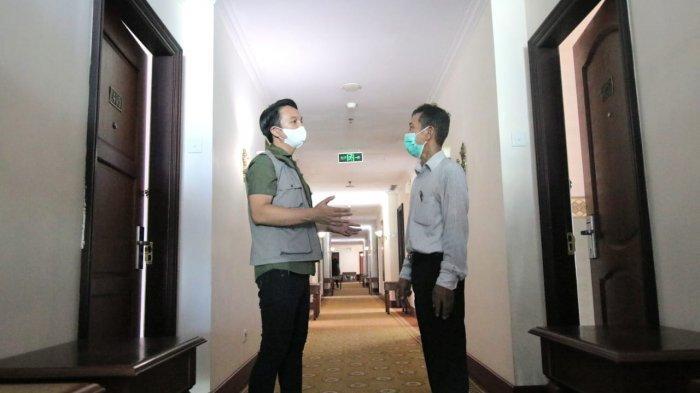 Hotel Grand Tiga Mustika Balikpapan secara resmi telah menjadi lokasi isolasi bagi pasien covid-19 terhitung sejak hari ini, Selasa (1/6/2021).