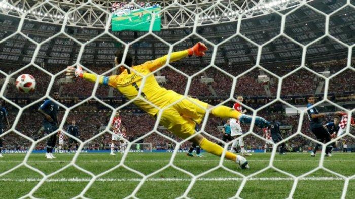 Final Piala Dunia 2018 - Kroasia Defisit Tiga Gol, Blunder Fatal Lloris Bikin Laga Kembali Sengit