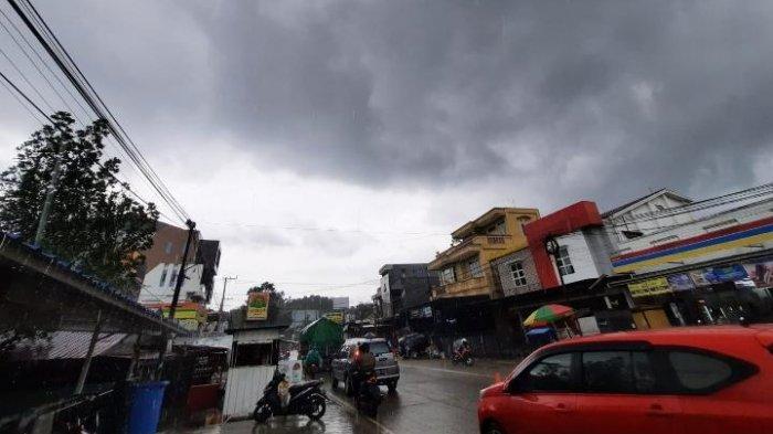Prakiraan Cuaca Kota Samarinda 11 September 2021, Hujan Ringan Turun Merata