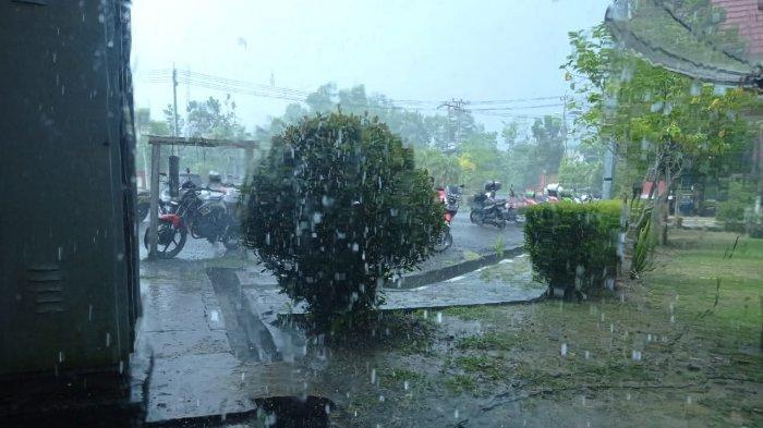 BMKG Klas IV Nunukan Keluarkan Peringatan Dini untuk 7 Wilayah, Potensi Hujan Lebat Disertai Petir