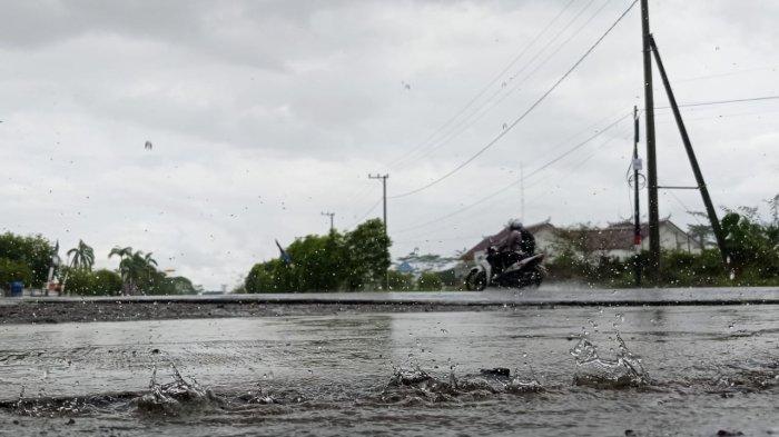 Prakiraan Cuaca Malinau, Beberapa Wilayah Ini Berpotensi Hujan Ringan Sore Berlanjut Malam Hari