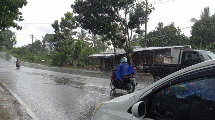 Prakiraan Cuaca Jumat 11 Juni 2021, Waspada Hujan, Petir dan Angin Kencang di Nunukan Sore Hari