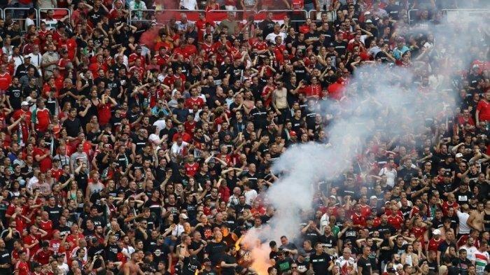 Penonton Euro 2020 tanpa Masker dan Boleh Berkumpul, Mengapa tak Bisa Diterapkan di Indonesia?